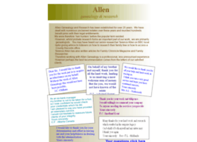 allengenealogy.co.uk