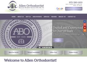 allenorthodontist.com