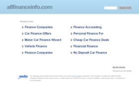 allfinanceinfo.com