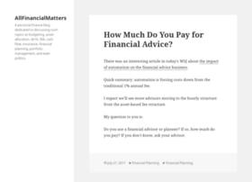 allfinancialmatters.com