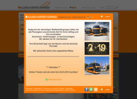 allgaeu-airport-express.de