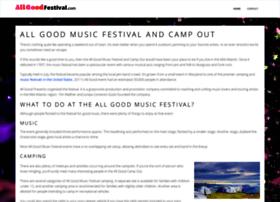 allgoodfestival.com