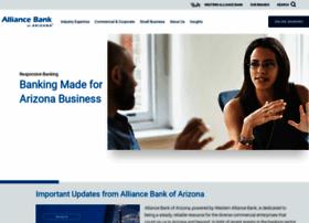 alliancebankofarizona.com