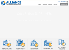 allianceconstruction.com