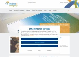 allianceforintegrity.org