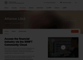 alliancelite2.swift.com