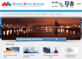 alliancemarinesolutions.com