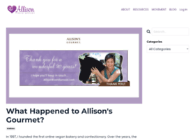 allisonsgourmet.com