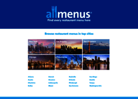 allmenus.com