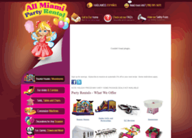 allmiamipartyrental.com