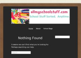 allmyschoolstuff.com