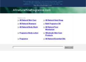 allnaturalfinefragrance.com