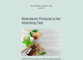 allnaturalhealthylife.com