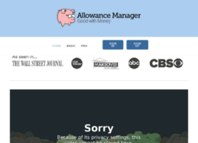 allowancemanager.squarespace.com