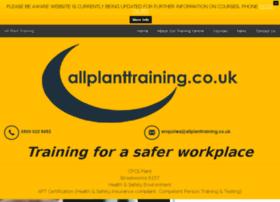allplanttraining.co.uk