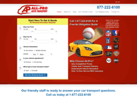allproautotransport.com