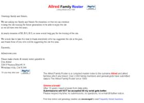 allredroster.com