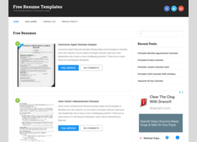 allresumetemplates.net