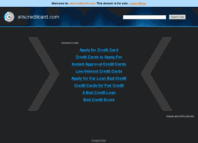 allscreditcard.com