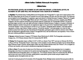 allstatemotorcyclesweepstakes.com