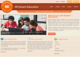 allstreameducation.com