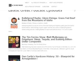 allthegreatpodcasts.com