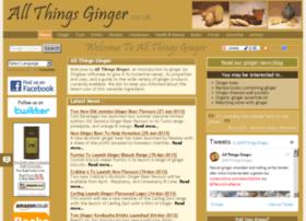 Allthingsginger.co.uk