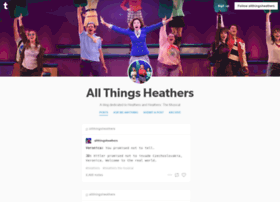 allthingsheathers.tumblr.com