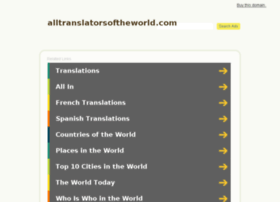 alltranslatorsoftheworld.com