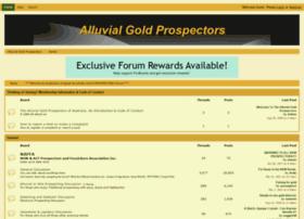 alluvialgprospectors.proboards.com