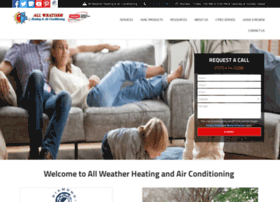 allweatherheatingandairconditioning.com
