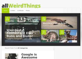 allweirdthings.com