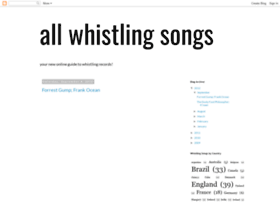 allwhistlingsongs.blogspot.co.il