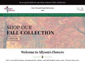 allysonsflowers.com