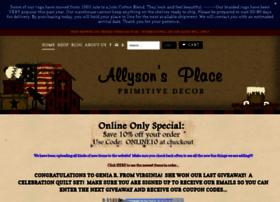 allysonsplace.com
