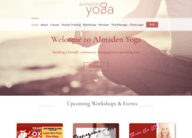 almadenyoga.com