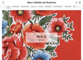 almasoilclothandchucherias.com