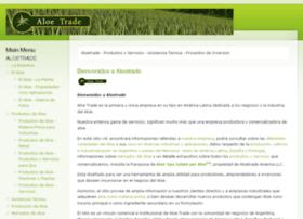 aloetrade.com.ar