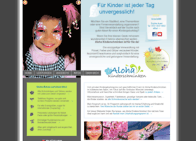 aloha-kinderschminken.de