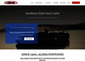 alohapontoons.com