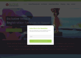 alohavehicleregistration.com