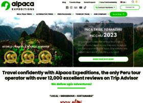 alpacaexpeditions.net