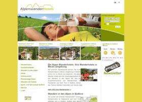 alpenwanderhotels.com