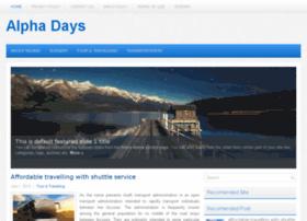 alpha-days.com