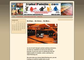 alpha1painting.com