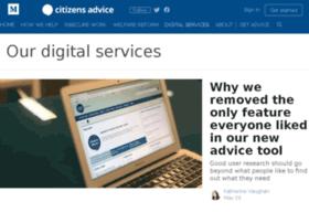 alphablog.citizensadvice.org.uk