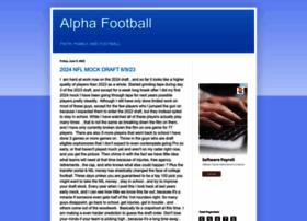 alphafootballexpert.blogspot.com