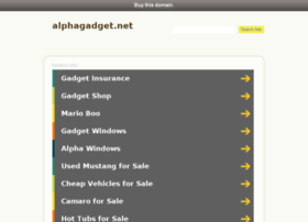 alphagadget.net