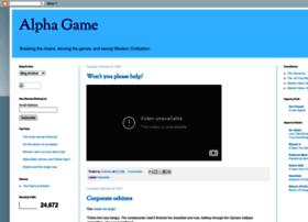 alphagameplan.blogspot.no