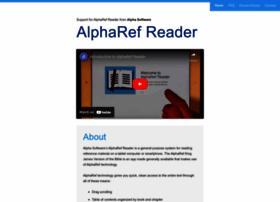 alpharefreader.com